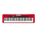 Casio CTS200 61-Key Portable CasioTone Keyboard - Red