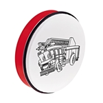 Nino Percussion Customizable ABS Hand Drum - Fire Truck Print