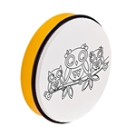 Nino Percussion Customizable ABS Hand Drum - Owl Print