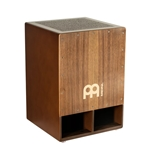 Meinl Percussion SUBCAJ5WN Jumbo Bass Subwoofer Cajon - Walnut Front Plate