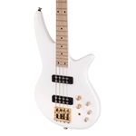 Jackson SBXM IV Spectra Bass - Snow White with Maple Fingerboard
