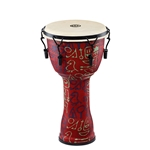 Meinl Percussion Travel Series 10in Djembe - Pharao's Script