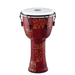 Meinl Percussion Travel Series 12in Djembe - Pharao's Script