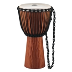 Meinl Headliner Rope Tuned Wood Djembe - Nile Series 13in Brown