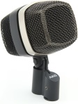 AKG D12VR Dynamic kick drum microphone with four different sound shapes.
