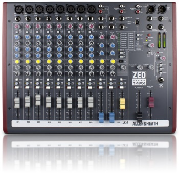 Allen & Heath ZED60-14FX Mixer