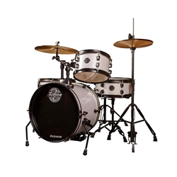 Ludwig/Questlove The Pocket Kit 4-Piece Drum Set - White Sparkle