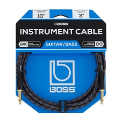 Boss BIC-10 Straight/Straight Instrument Cable