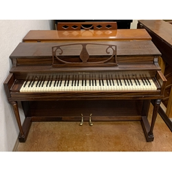 1950 Winter Spinet - Mahogany