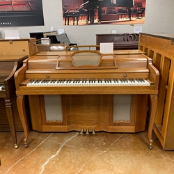 "Jesse French 1940s 45"" Upright Acoustic Piano"