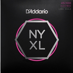 D'Addario NYXL45100 Light Gauge Long Scale Bass Strings 45-100