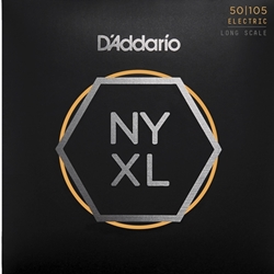 D'Addario NYXL50105 Medium Gauge Long Scale Bass Strings 50-105