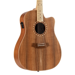 Cole Clark FL2EC-BLBLSB - Fat Lady 2 Cutaway - Australian Blackwood - Satin Box Fret