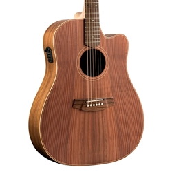 Cole Clark FL2EC-RDBL - Fat Lady 2 Cutaway - Redwood Top, Australian Blackwood Back & Sides